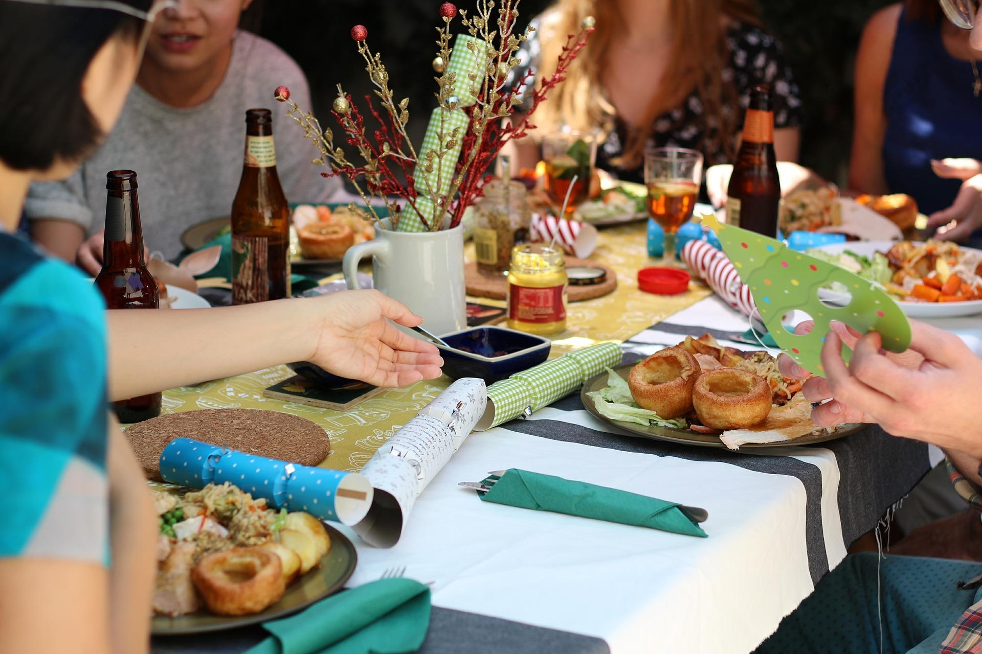 Cuisine avec des amis